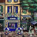 Italian Cafe by Curtiss Shaffer