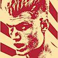 Ivan Drago Retro Propaganda by Filip Hellman