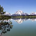 Jackson Lake Overlook by Michael Chatt