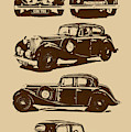 Jaguar Mark Iv Ss 2.5 Saloon by Jorgo Photography - Wall Art Gallery