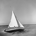 Jamaica Sea Sailing by Slim Aarons