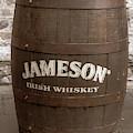Jameson Whiskey Barrel In Dublin by Georgia Fowler