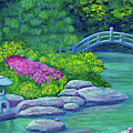 Japanese Garden by Laura Zoellner