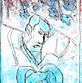Japanese Pop Art Print 18f1 by Artist Dot