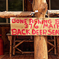 Jarbidge Nevada Sign by Leland D Howard