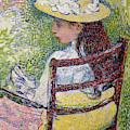 Jeanne Pissarro, 1895 by Theo van Rysselberghe