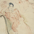 Jeanne Pontillon by Berthe Morisot