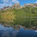 Jenny Lake Reflections by Matthew Irvin