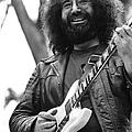 Jerry Garcia Performs Live by Richard Mccaffrey