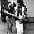 Jimi Hendrix by Fred W. McDarrah