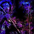 Jimi Hendrix by Max Huber