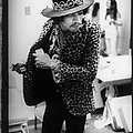 Jimi Hendrix Plays Anaheim by Ed Caraeff/morgan Media
