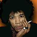 Jimi Hendrix 5 by Walter Neal
