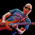 Joe Satriani Painting 2 by Paul Meijering