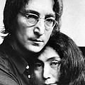 John Lennon And Yoko Ono by New York Daily News Archive