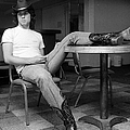 John Travolta, With His Hat And Boots by New York Daily News Archive