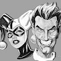 Joker And Harley Quinn by Bill Richards