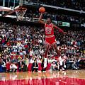 Jordan Slam Dunk Competition by Andrew D. Bernstein