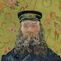 Joseph-etienne Roulin, 1889  by Vincent Van Gogh