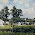 Jubilie Celebration At Bedford Park, London, 1987 by Camille Pissarro