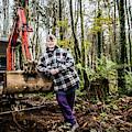 Julie Hillman - Female Gravedigger by Keith Morris
