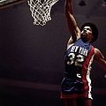 Julius Erving Dunks by Ron Koch