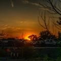 Junk Yard Sunset by Joseph Amaral