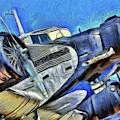 Junkers Ju 52 Art by David Pyatt