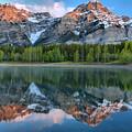 Kananaskis Mountain Reflections by Adam Jewell