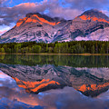 Kananasksi Country Wedge Pond Sunrise Panorama by Adam Jewell