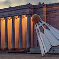 Kansas City Nelson Atkins Shuttlecock Sculpture by Gregory Ballos