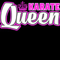 Karate Queen Cute Martial Arts Training by Henry B