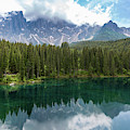Karersee And Latemar by Andreas Levi
