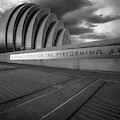 Kc Kauffman Center In Monochrome by Gregory Ballos