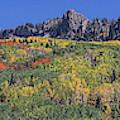 Kebler Pass Panorama #3 by Jim Garrison
