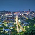 Keelung City Skyline by Yusheng Hsu