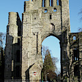 Kelso Abbey Ruin by Victor Lord Denovan