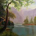 Kern's River Valley, California by Acrylic Beginner's Class