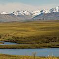 Kettle Ponds Near Paxson Glacier by Peter J Sucy
