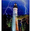 Key West Lighthouse by Jas Stem