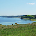 Kielder Water And Marina Bay In Northumberland by Victor Lord Denovan