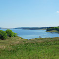 Kielder Water In Northumberland by Victor Lord Denovan