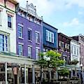 Kingston Ny - View Of Wall Street by Susan Savad