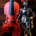 Knight And Violin by Garry Gay