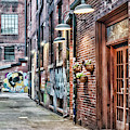 Knoxville Alleyway by Sharon Popek