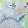 Koala With Baby - Pastel Wildlife Painting by Shawn Ballard