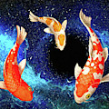 Koi In Space by Sandra Selle Rodriguez
