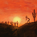 Kokopelli's Sunset Song by Chance Kafka