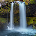 Koosha Falls In Fall by Matthew Irvin