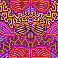 Kuna Butterfly by Vagabond Folk Art - Virginia Vivier